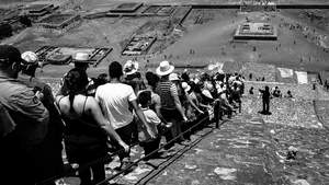 Get In Line, Teotihuacan, Mexico