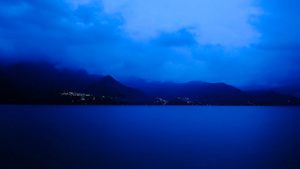Blue Hour, San Pedro, Guatemala
