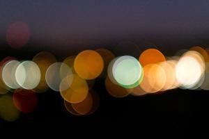 San Luis Obispo at Night, CA