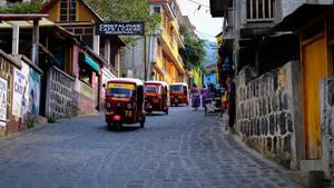 Tuk Tuks, San Pedro, Guatemala