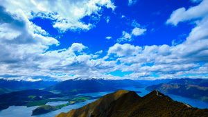 Above Roys Peak, Wanaka, NZ
